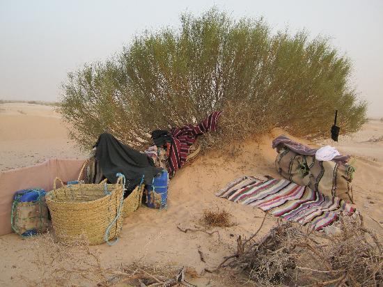 Dar Souleiman : bivouac dans les dunes