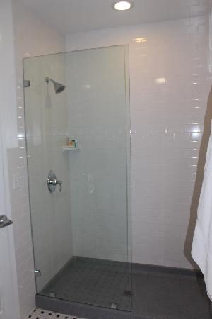 The Gould Hotel: Seperate shower area, very large
