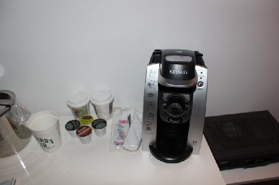 The Gould Hotel: Keurig Coffee always a good thing