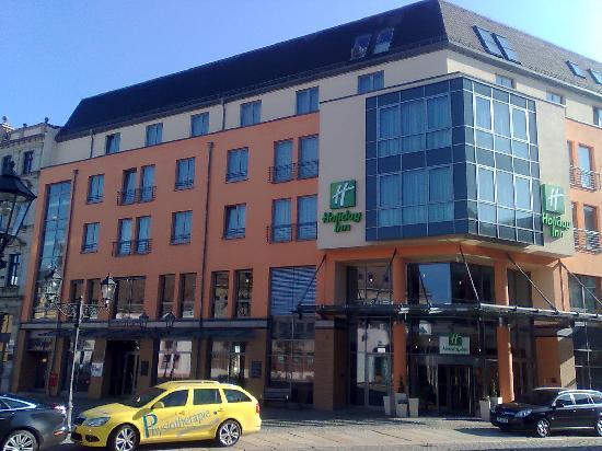 Zwickau, Germany: Hotel facade