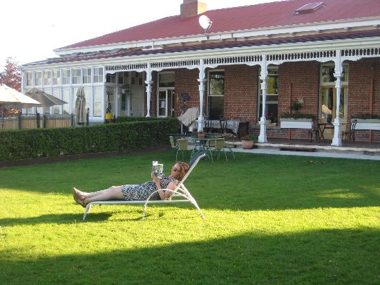 Ugbrooke Country Estate: Relaxing!