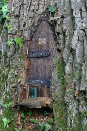 Furzey Gardens: Fairy Dorrs are hidden throughout the Gardens