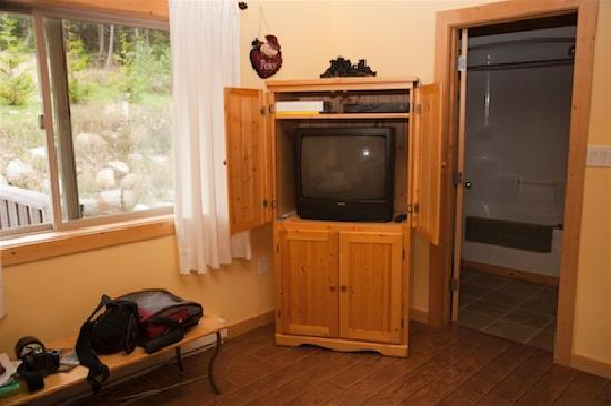 Home Away From Home Cottage - Bears Den & Eagles Nest: TV