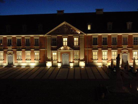 Lidzbark Warminski, بولندا: hotel nocą