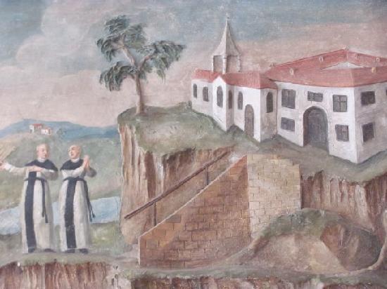 Monastery Aldersbach: detail fresco