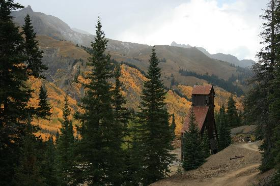 Ouray, CO: Mine site hidden in the woods