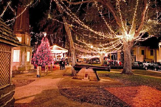 St. Augustine, FL: Nights of Lights, Plaza