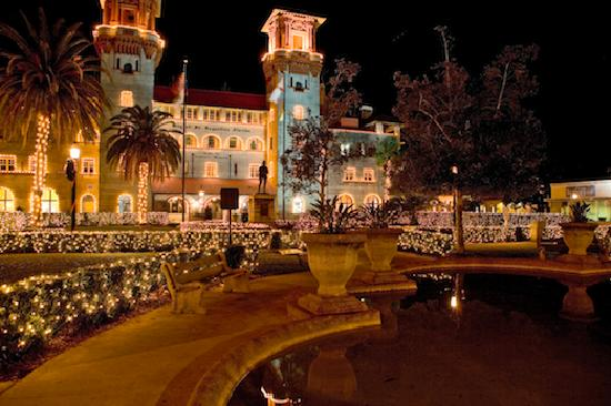 St Augustine Fl Nights Of Lights Lightner Museum