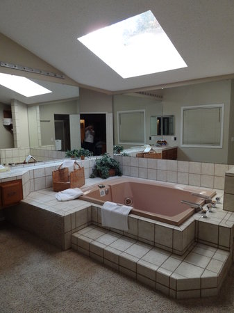 Los Lagos: Master bath was awesome & had seperate shower