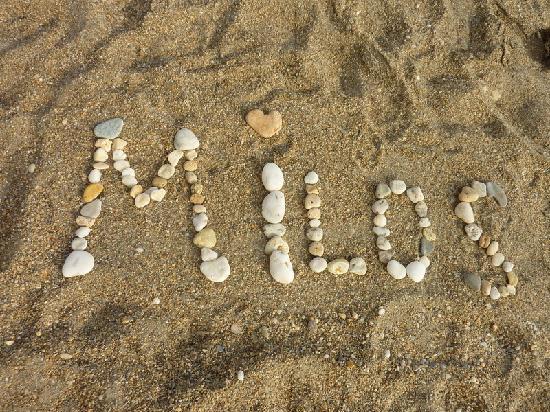 Paliochori Beach : Milos - Palaioxori beach