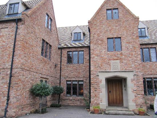 The Old Hall Bed & Breakfast: The Old Hall entrance
