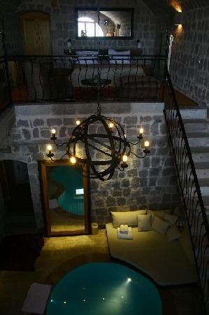 Argos in Cappadocia: Havuzlu 4 odadan biri