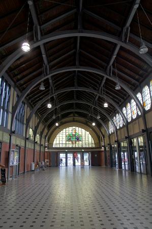 Travemunde: interno della stazione