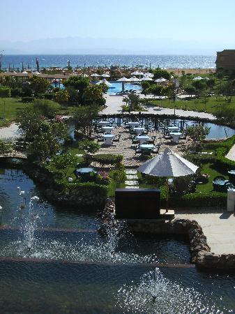Swiss Inn Dream Resort Taba : Vista dalla terrazza