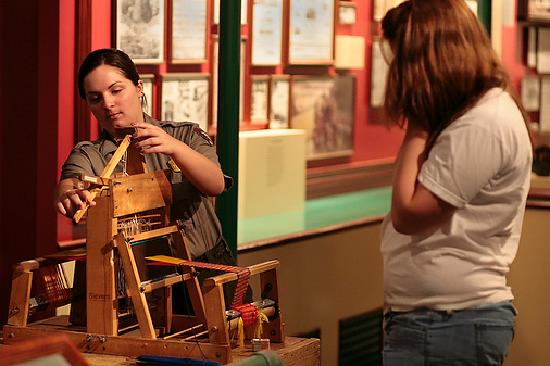Visit the Boott Cotton Mills Museum at Lowell National Historical Park