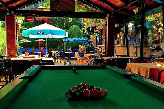 Eden Garden Apartments: Pool Table
