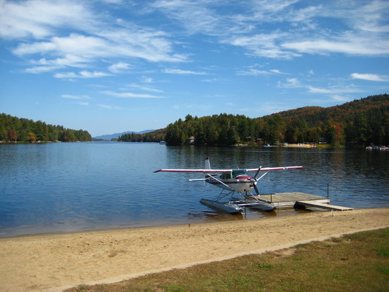 Sea Plane and Long Lake NYS