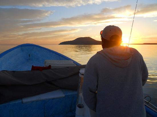 The Baja Big Fish Company: Francisco on the way to Coronado Island