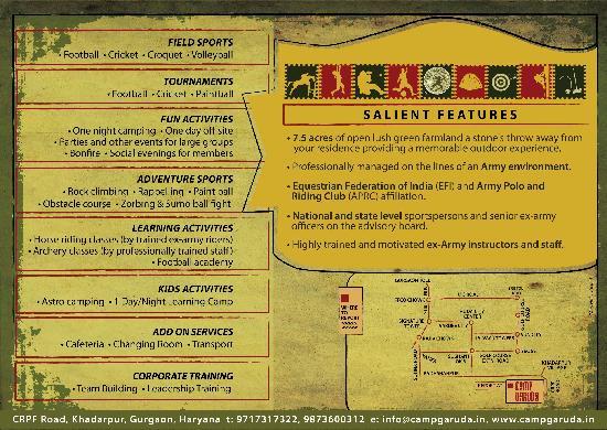 Camp Garuda: At a Glance!!