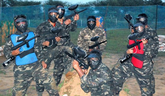 Gurgaon, India: Paintball