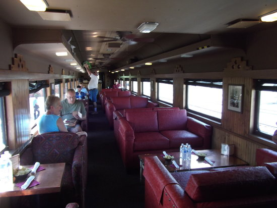 Clarkdale, AZ : Beautiful First Class Club Car