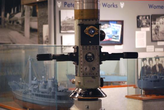 Door County Maritime Museum Working submarine periscope at the Sturgeon Bay museum & Working submarine periscope at the Sturgeon Bay museum - Picture of ...