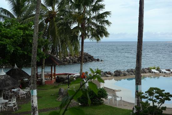 Paras Beach Resort: view from our balcony