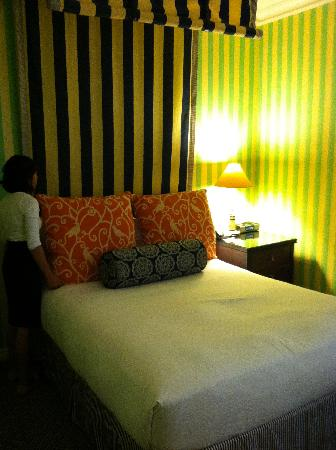 The Marker San Francisco, A Joie de Vivre Hotel: Room was small but beautiful