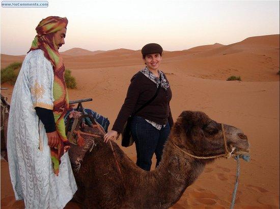 Casablanca, Morocco: Camel trek with Ali varat.