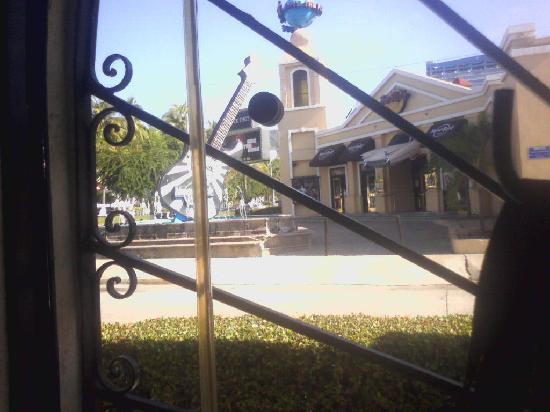 Vista del Cabrito al restaurante The Planet Holliwood