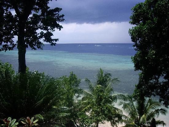 Bunaken Island, Indonesia: Desde el cottage