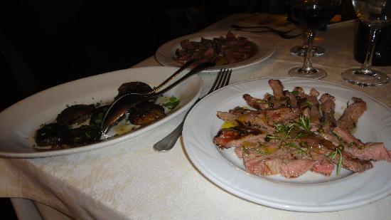 La Torricella: Tagliata di Chianina
