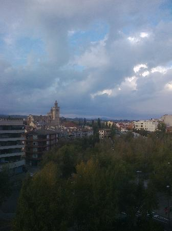 Hotel Sant Cugat : view from my window