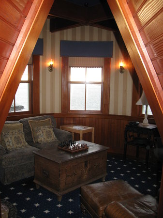 Castle Hill Inn: The observation room upstairs.