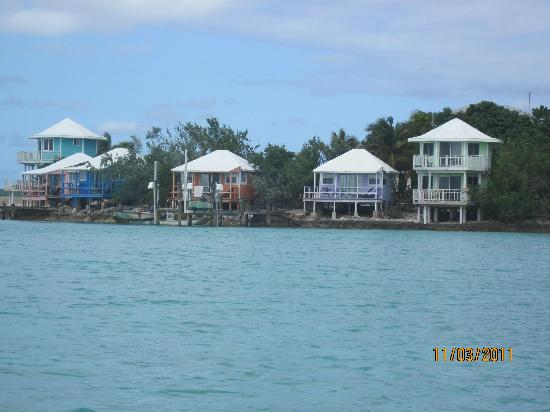 cottages from the water-ours was on the far right