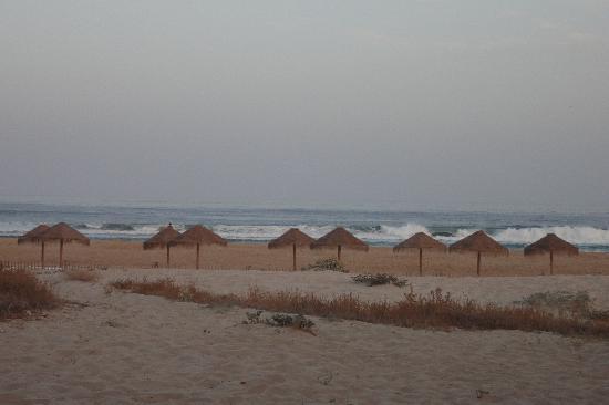 Meia Praia vom Strandrestaurant aus