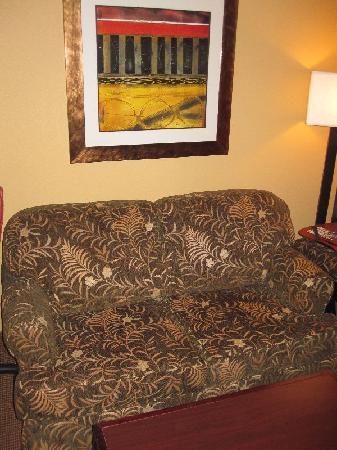 Hampton Inn & Suites San Antonio Airport: Small Couch
