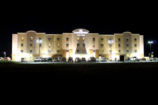 Candlewood Suites Grand Junction NW: night view
