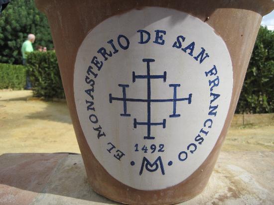 Palma Del Rio, Spanje: Flower pots