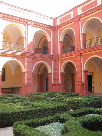 Monasterio de San Francisco: Interior courtyard