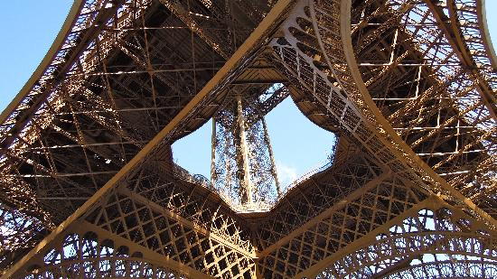 Floride Etoile Hotel: The Eiffel Tower's foundations