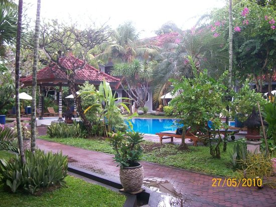 Hotel Sinar Bali: from our room