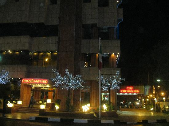 Shiraz International Parseh Hotel: Hotel Pars - Exterior