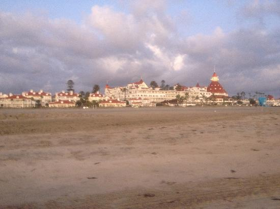 Hotel del Coronado: One of the largest beach hotels, built in 1880