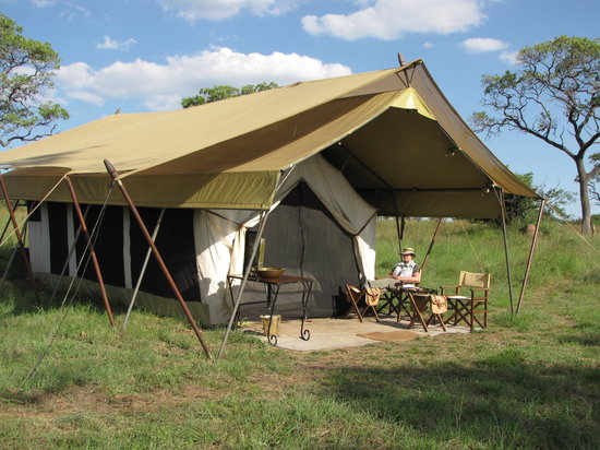 andBeyond Serengeti Under Canvas: Our tent