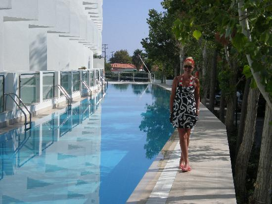 Mitsis Faliraki Beach Hotel & Spa: private pool