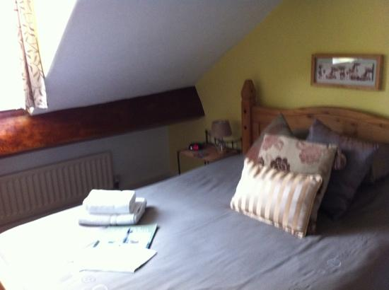 Pitcairn House: The double room with view of Skiddaw.