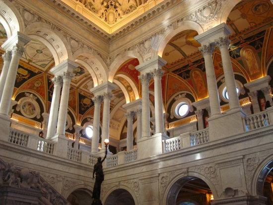 Bibliothèque du Congrès : Center Hall