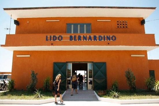 Lido Bernardino: ingresso