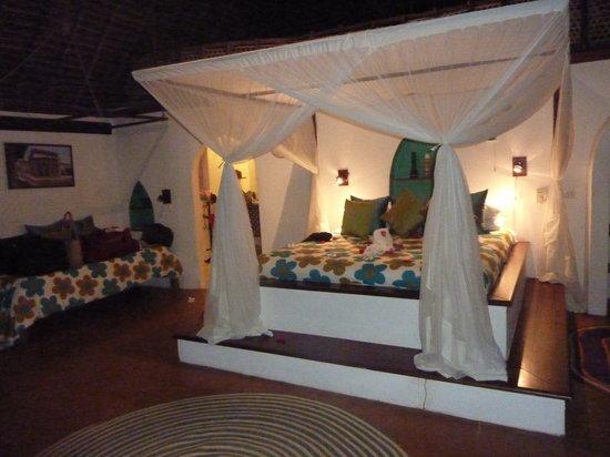 Matemwe Lodge, Asilia Africa : our bedroom